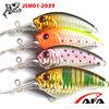 Wholesale crank bait fishing lures,hard plastic crank fishing lures manufactory JSM01-2039