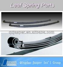 Multiple truck suspension leaf Springs