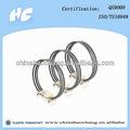 China anel de pistão para peças de motor China fabricante