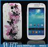 Sumsung Galaxy S4 mini I9190 TPU case,flower printing (W001)