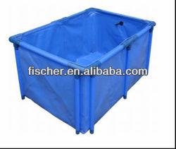 2014 high quality Hot selling Aquarium foldable koi fish tank,foldable fish tank,high quality foldable fish tank