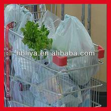 New design plain print retail plastic shopping bags