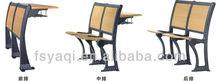 High quality aluminium student desk and chair YA-011A