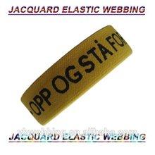 china wholesale jacquard elastic polyester Webbing for garments