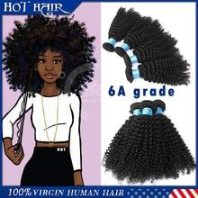 Mongolian kinky curly hair weave 5A grade mongolian virgin hair, kinky curl, mongolian hair