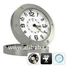 Motion Detection Hidden Table Clock Camera