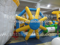 inflatable water wheel water toy