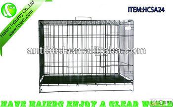 1 Door Dog Kennel with ABS Tray, Haierc Dog Kennel HCSA24