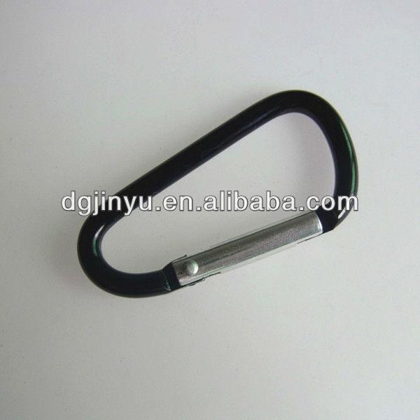 Climbing fashion aluminum locking carabiner hook