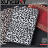 2014 New leopart grains leather stand up flip case cover for ipad mini
