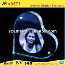 POP 2012 hot el t-shirt panel with acrylic photo frame/acrylic photo frame/acrylic
