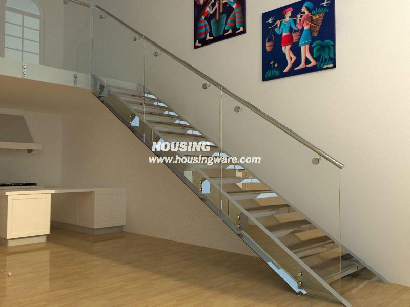 Escalier en verre moderne escalier rambarde escaliers id - Rambarde escalier moderne ...