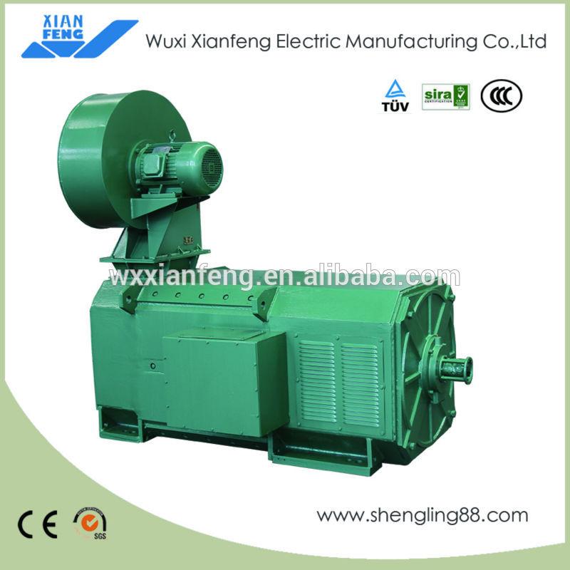 Brushed DC Motor Z4-450-31/32(500kw/550kw/453kw/408kw/450kw/309kw/340kw/200kw/220kw)