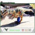 2013 nuevo estilo realista de la vida tamaño traje de dinosaurio