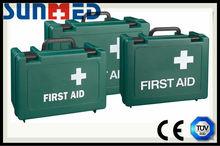 Cheap price green standard first aid kit box