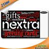 Printing Plastic Blank VIP Card /customized business card printing