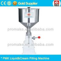 Guangzhou PMK cosmetic cream Manual filling machine with CE standard