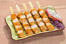 bamboo knotted skewers.bamboo skewer with custom logo,turner skewers