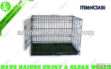 Collapsible Dog Cage, Mental Dog Crate HCSA30