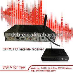 qsat q11g internet tv decoder gprs dongle for africa