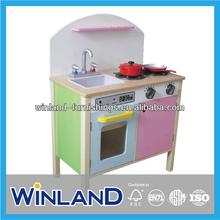 Kids Wooden Pretend Play Kitchen Set 2013