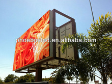 P10 full color LED outdoor double sided led sign/billboard for advertising