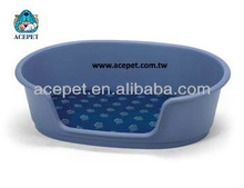 667 Plastic oval shape cat and dog Pet bed