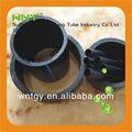 Alta calidad de polietileno negro tubo de plástico