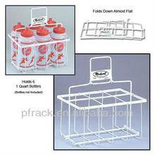Plastic 6 pack bottle carrier