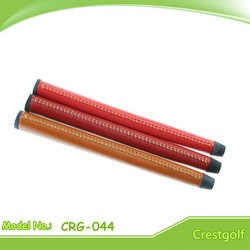 Leather golf putter grips