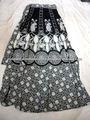 señoras impreso faldas largas de venta al por mayor