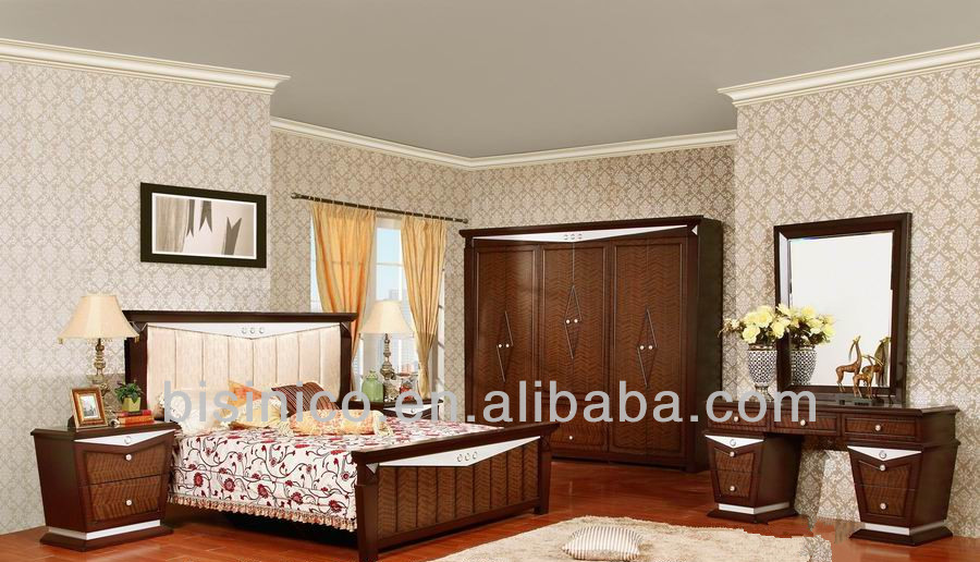 Wood Carve Beds Bedroom Furniture,Asian Style Solid Wood Furniture,Classical
