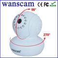 wanscam robot kit de alarma de la cámara ip inalámbrica p2p red wifi webcam de alta definición de vídeo ip de la cámara