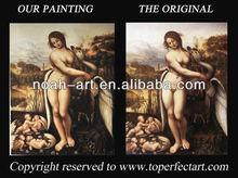 Leda and the Swan canvas art reproductions of Leonardo da Vinci