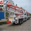 42m boom Japan ISUZU truck mounted concrete line pump