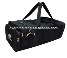 Foldable duffle travel bag