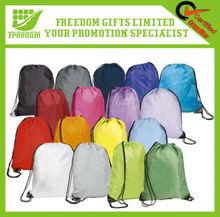Promotion Advertising Nylon Shopping Drawstring Bag
