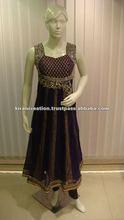 Salwar kameez neck design long sleeves