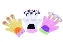 2015 Halloween pet toys Plush gloves Cat toys/Cat toy glove