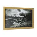Enmarcado impresiones/en blanco y negro enmarcado impresiones/paisaje foto enmarcada impresiones