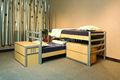 Mobiliário crianças beliches baratos, usado para crianças camas para venda, cartoon crianças jogo do fundamento