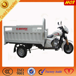 New gasoline 200cc vending tricycle