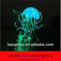 Medusas de iluminación de fibra óptica
