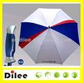 Forte à prova de vento de fibra de vidro umbrella durable logotipo personalizado
