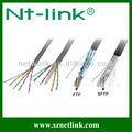 cat5e utp encalhado de cobre cheia de cabo lan