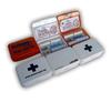Mini plastic first aid kit