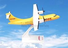 ATR-42 DHL Plastic Plane Model