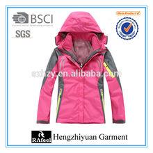 Pink winter jacket snow jacket