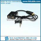 VGA to HDMI Converter with Audio Cable Male to Female