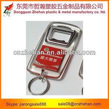plastic keychain cards/acrylic key holders/bottle opener keychains